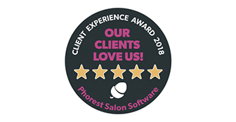 Phorest Client Experience Award for 2018